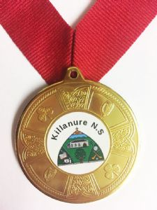 Eire Medal Deal Including Your Logo & Ribbon, Pack of 50 only €2.00 each